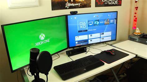 gaming room setup my gaming setup room tour 2016