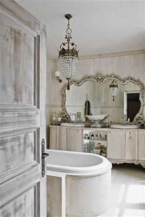 shabby chic bathroom mirrors 26 adorable shabby chic bathroom d 233 cor ideas shelterness