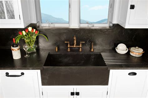 soapstone kitchen sink kitchen sinks soapstone for germ free and durability