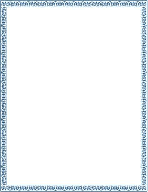 victorian ornamental border blue   /page frames/old ornate borders/victorian border/victorian
