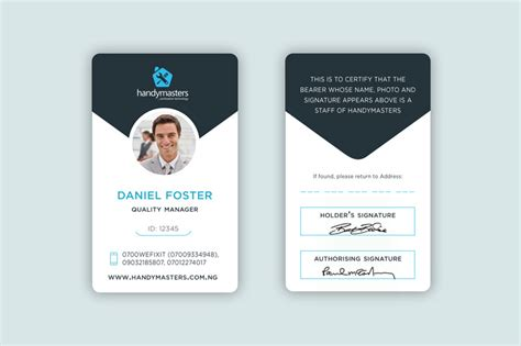make company id cards business card and id card design freelancer