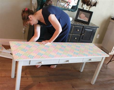 how to decoupage on furniture how to decoupage furniture with modge podge tutorial