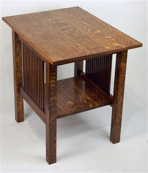 free woodworking plans for end tables woodworking plans mission style end table