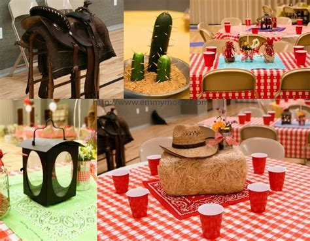25  unique Western theme decorations ideas on Pinterest   Western party decorations, Cowboy