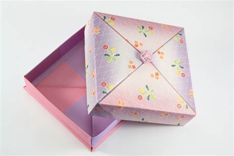 present box origami origamisan origami gift box