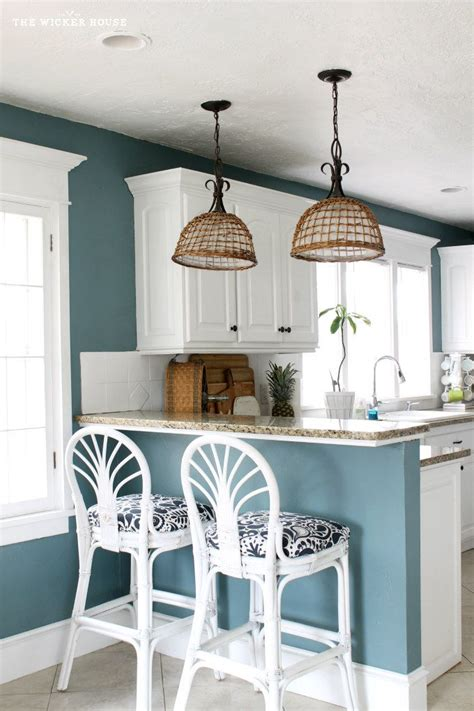blue kitchen decorating ideas 25 best ideas about blue walls kitchen on