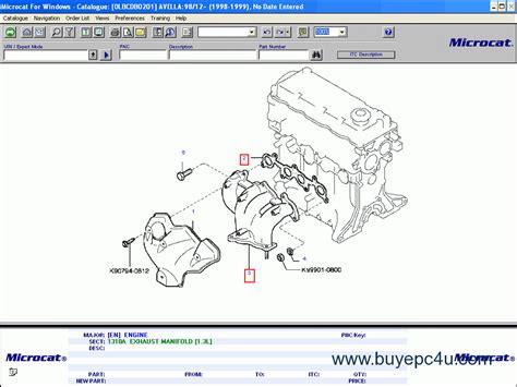 free download parts manuals 2013 kia sorento on board diagnostic system microcat kia 2014 electronic parts manual