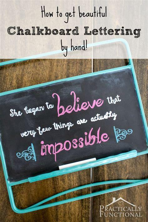 diy chalkboard lettering how to diy chalkboard lettering by