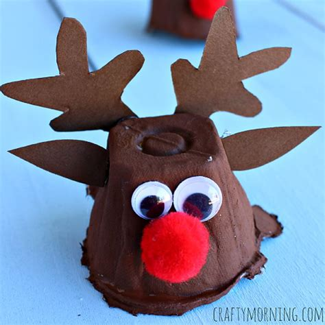 craft ornaments for cool reindeer crafts for