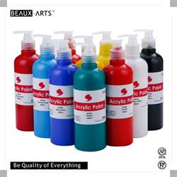 acrylic paint high quality non toxic high quality bottled acrylic paint for acrylic