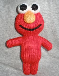 elmo knitting pattern ravelry new elmo peep pattern by theknittycat shar
