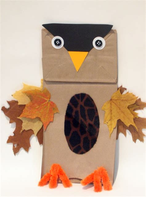 fall crafts glitter mommies easy fall owl craft