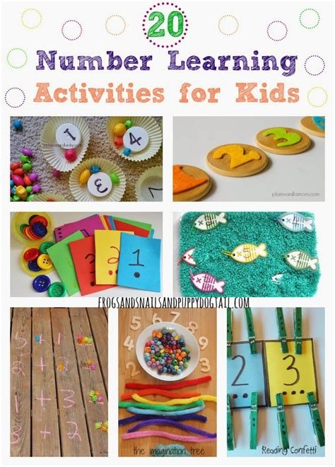 learning crafts for 20 number learning activities for fspdt