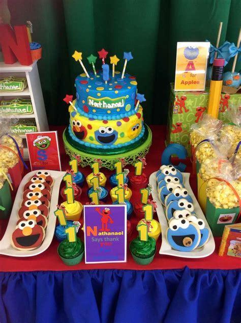 Southern Blue Celebrations: Sesame Street Party Ideas