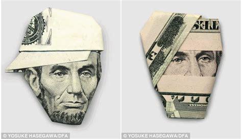 money hat origami money origami by hasegawa yosuke featured article
