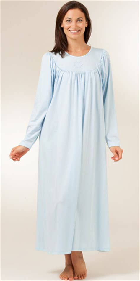 knit nightgowns serene comfort