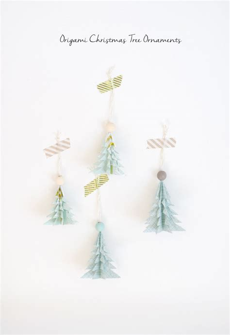 origami tree ornament 100 diy decorations that will fill your home