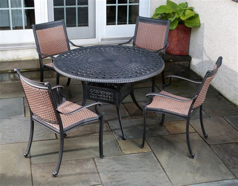 cast aluminum patio furniture sets patio cast aluminum patio sets home interior design