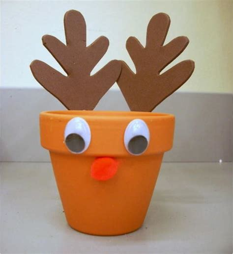 easy reindeer crafts for easy reindeer treat holder craft