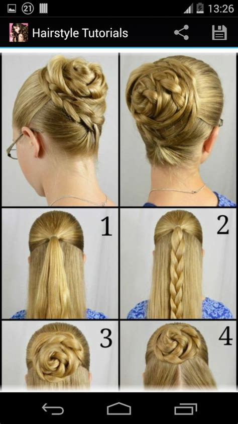 step by step guide to a beauitful hairstyle hairstyles step by step android apps on google play