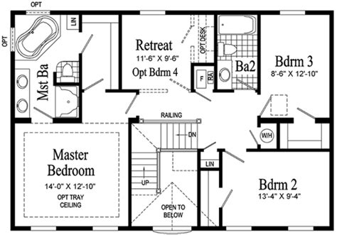floor plans for two story homes bennington two story modular home pennwest homes model
