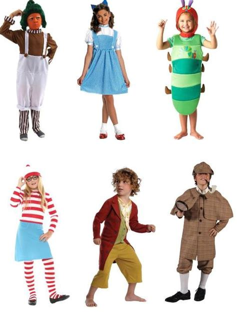 pictures of book characters costume ideas world book day 4 manchester