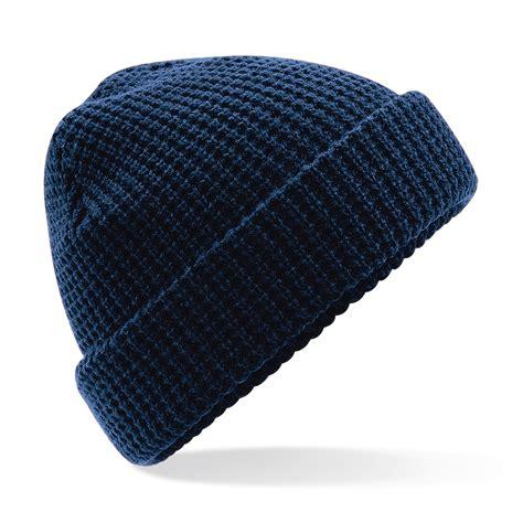 knit beanie b422 classic waffle knit beanie beechfield