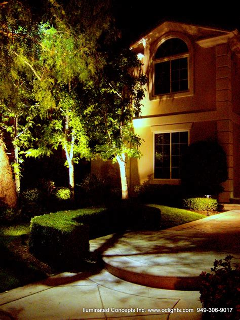 led landscape lighting led landscape lighting design install in orange county