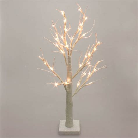 white twig tree with lights battery operated white glitter twig tree with warm white