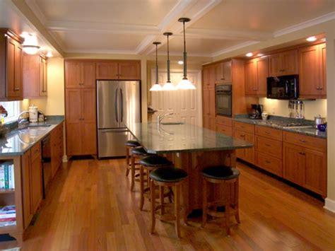 kitchen island layouts kitchen layout templates 6 different designs hgtv