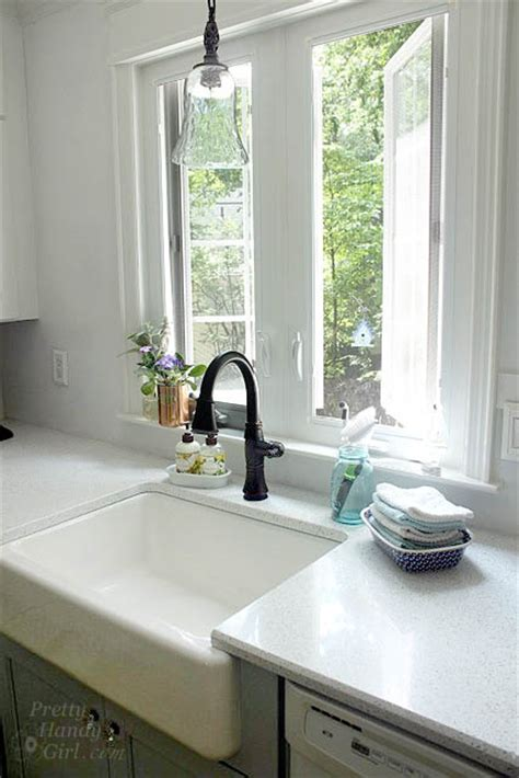 Kitchen Windows Over Sink summer tour of homes welcome to my home pretty handy