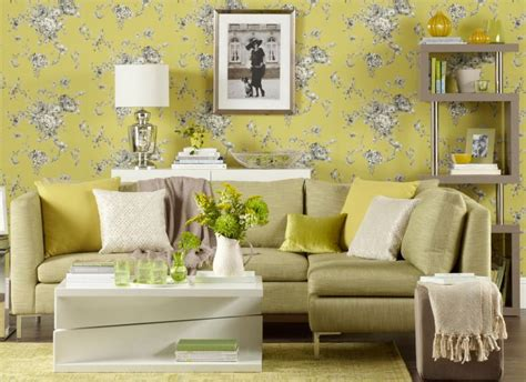 wallpaper room transform your living room with statement wallpaper the