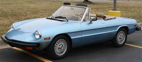 1981 Alfa Romeo Spider by 1981 Alfa Romeo Spider Photos Informations Articles
