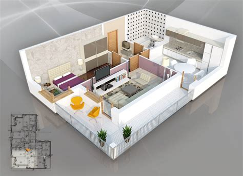 one bedroom home designs 1 bedroom apartment house plans