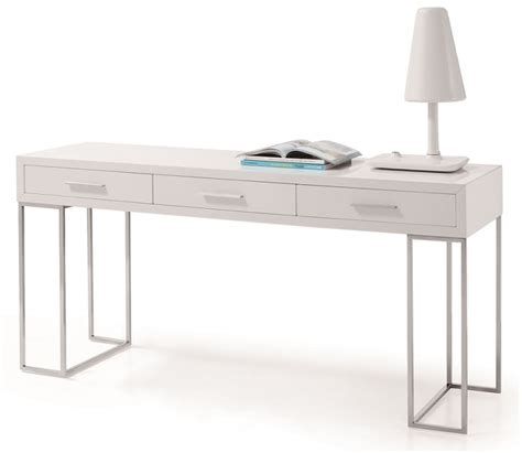 white modern office desk white modern office desk furniture stores in chicago