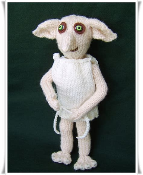 free downloadable harry potter knitting patterns dobby the house pattern only immediate