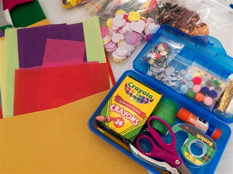 craft box how to make a children s craft box friday craft