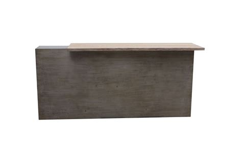 metal reception desk custom metal reception desk for a studio mortise