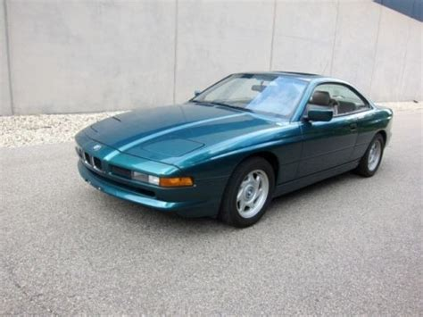 buy car manuals 1992 bmw 8 series lane departure warning purchase used 1992 bmw 850 850i rare 6 speed manual serviced clean great buy in madison