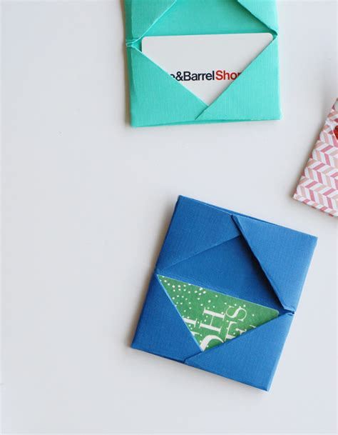 make gift card holder gift card holders free paper crafts tutorial