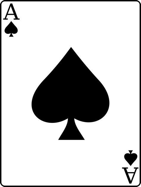 ace of the ace of spades cliparts co
