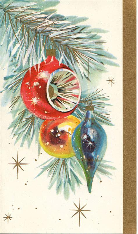 vintage card ornament tree by antiquewhisperer