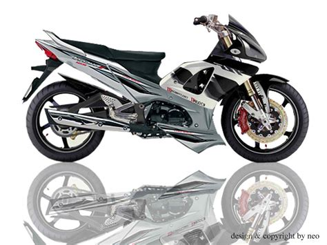 Modif Supra X 125 Tahun 2013 by Gambar Modifikasi Motor Supra X Racing