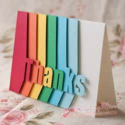 make a greetings card 25 best thank you cards ideas on