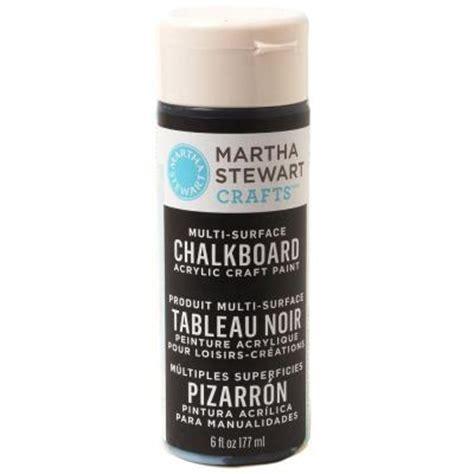chalkboard paint msds martha stewart crafts 6 oz black multi surface chalkboard