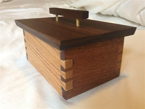 woodworking dovetail dovetail box cut by rjh311 lumberjocks