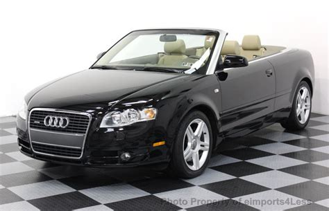 2007 Audi A4 Cabriolet by 2007 Used Audi A4 2 0t Cabriolet Quattro Awd At