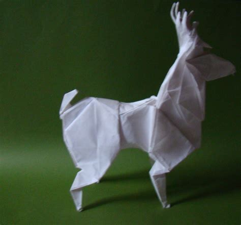 how to make an origami deer origami deer by origamiftw on deviantart
