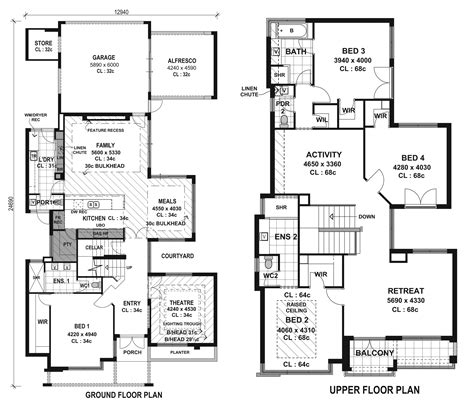houses and floor plans top modern house floor plans cottage house plans