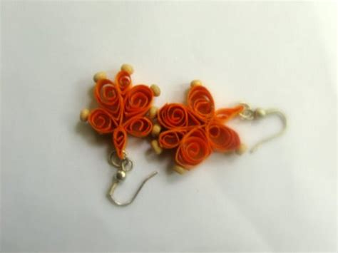 paper craft earrings flickriver 10 fingers paper jewellery india s photos